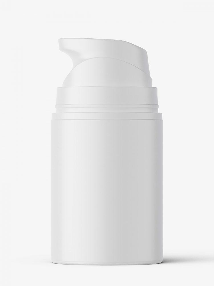 Airless bottle mockup / matt