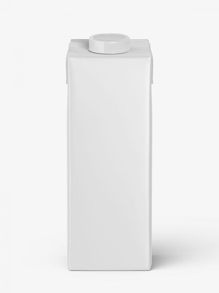 Carton juice mockup / front