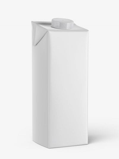 Carton juice mockup