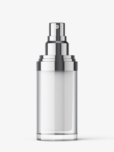 Double wall spray bottle mockup / 30 ml