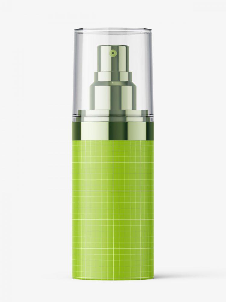 Double wall spray bottle mockup / 30 ml
