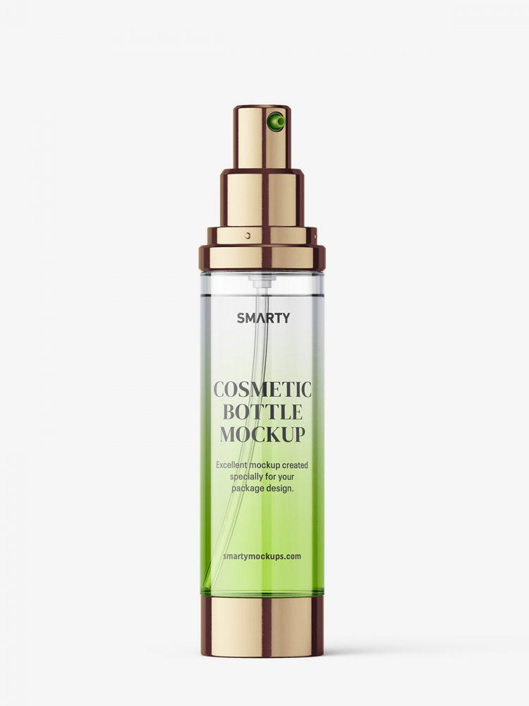Airless pump bottle mockup / 50 ml