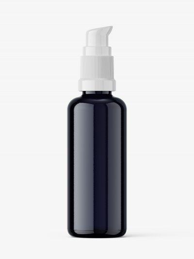 Airless pump bottle mockup / biophotonic