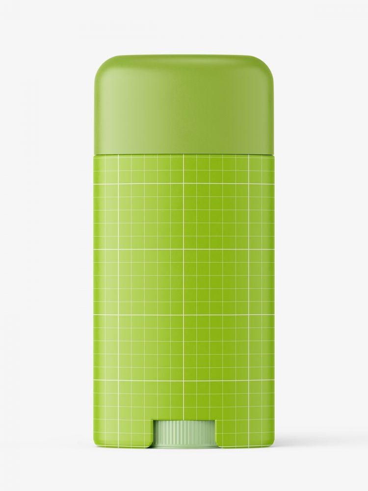 Matt deodorant tube mockup