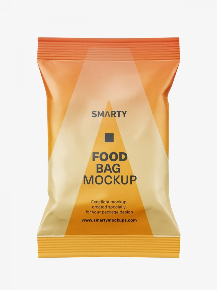 Food pouch mockup / matt