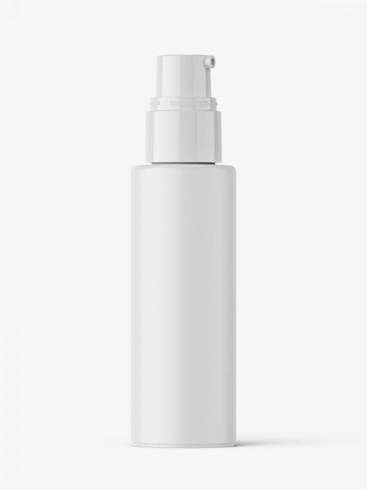 Airless dispenser bottle mockup / matt
