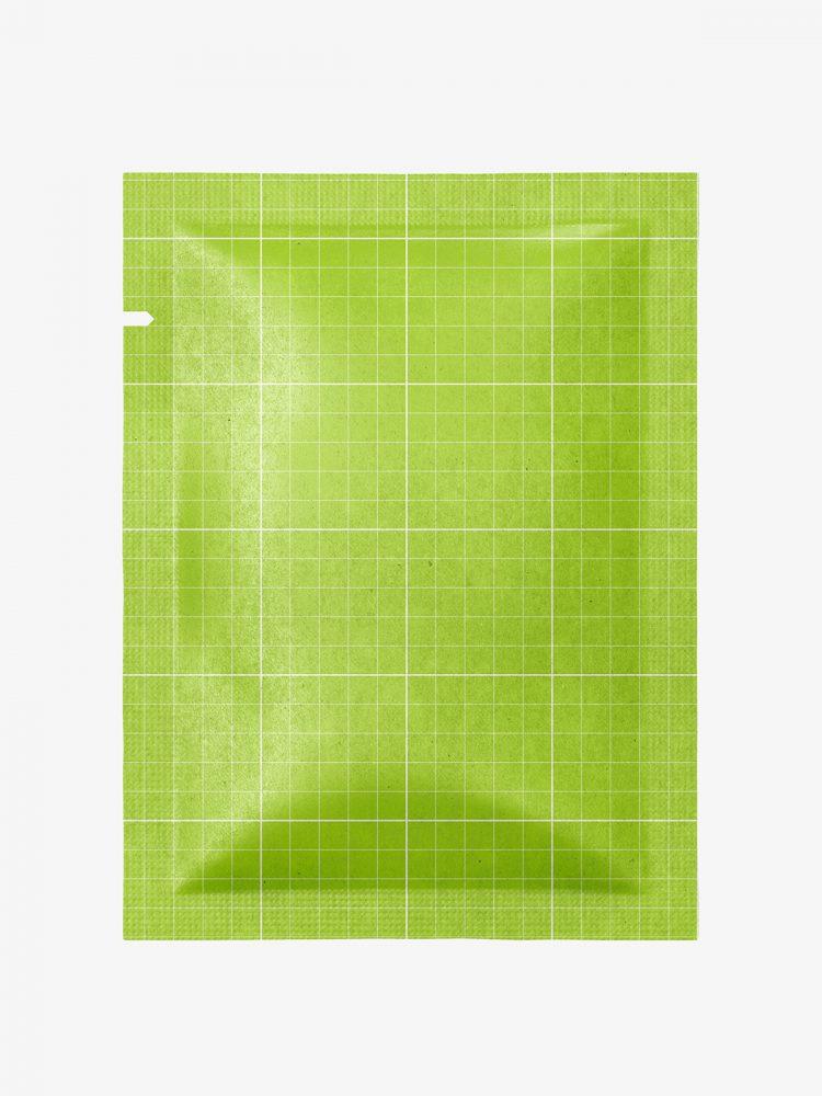 Sachet mockup / kraft paper