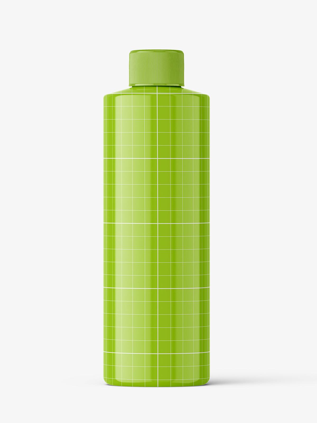Download Universal glossy bottle mockup - Smarty Mockups