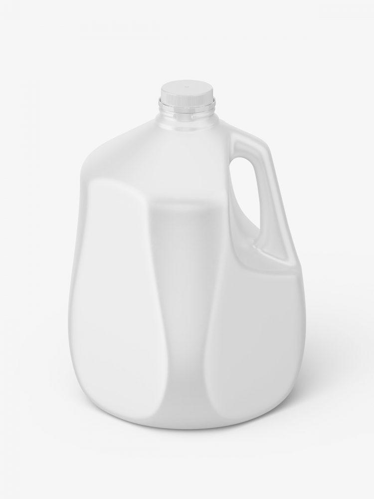 Plastic jug mockup / 1 gal