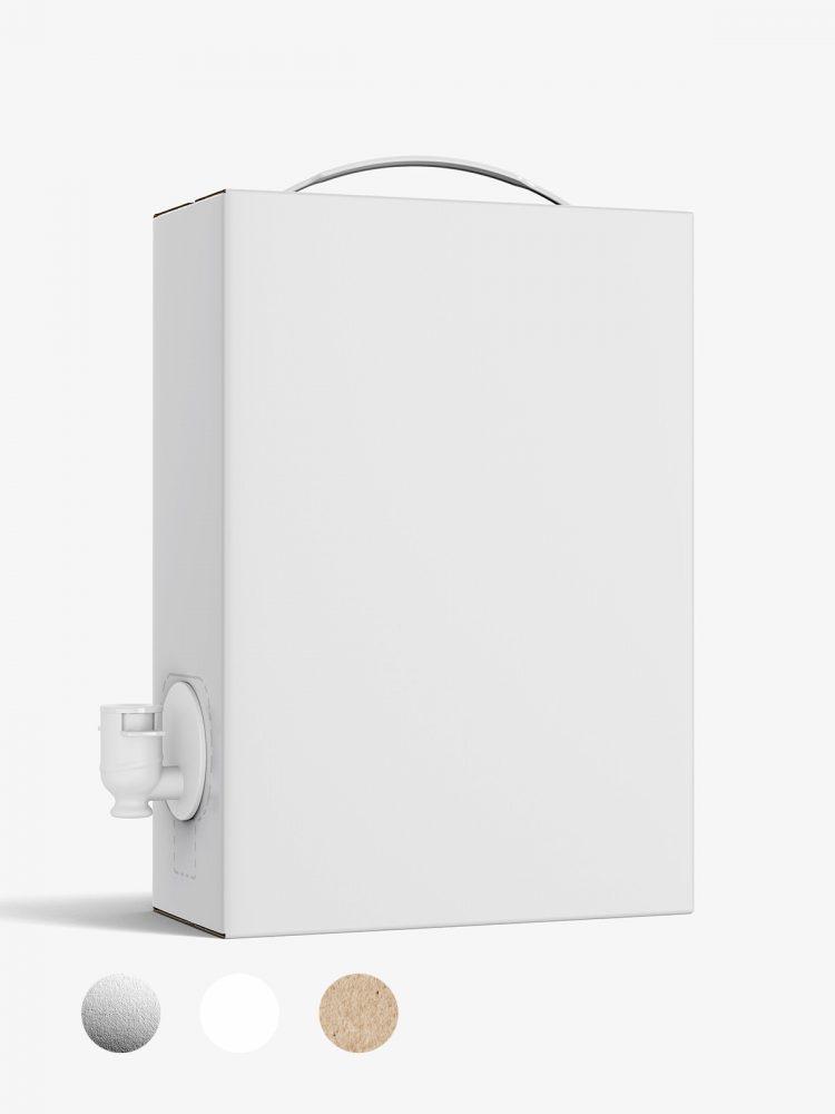 Wine / Juice carton box mockup