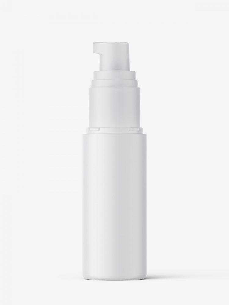 Airless pump bottle mockup