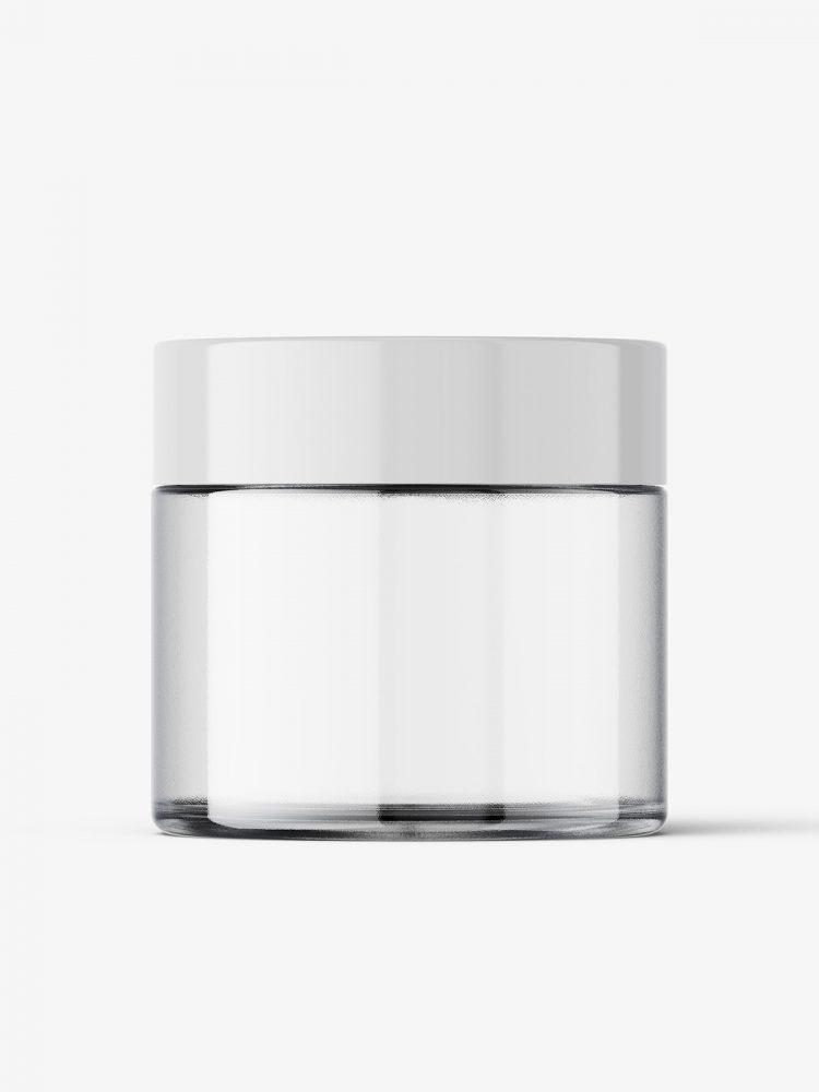 Smal jar mockup / empty
