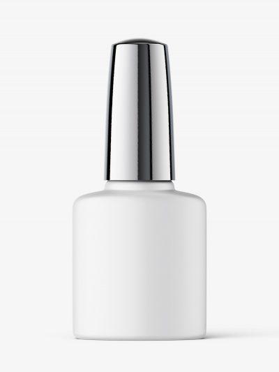 Nail polish bottle mockup / matt