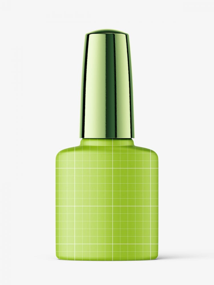 Nail polish bottle mockup / matt