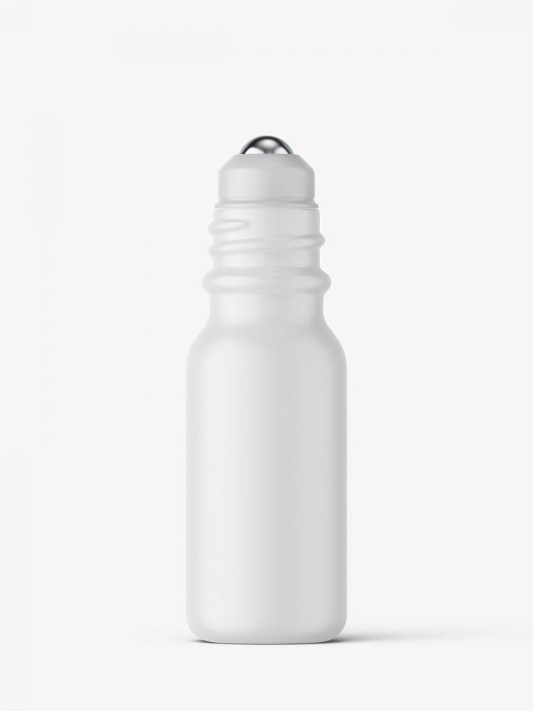Small roll-on bottle mockup / matt