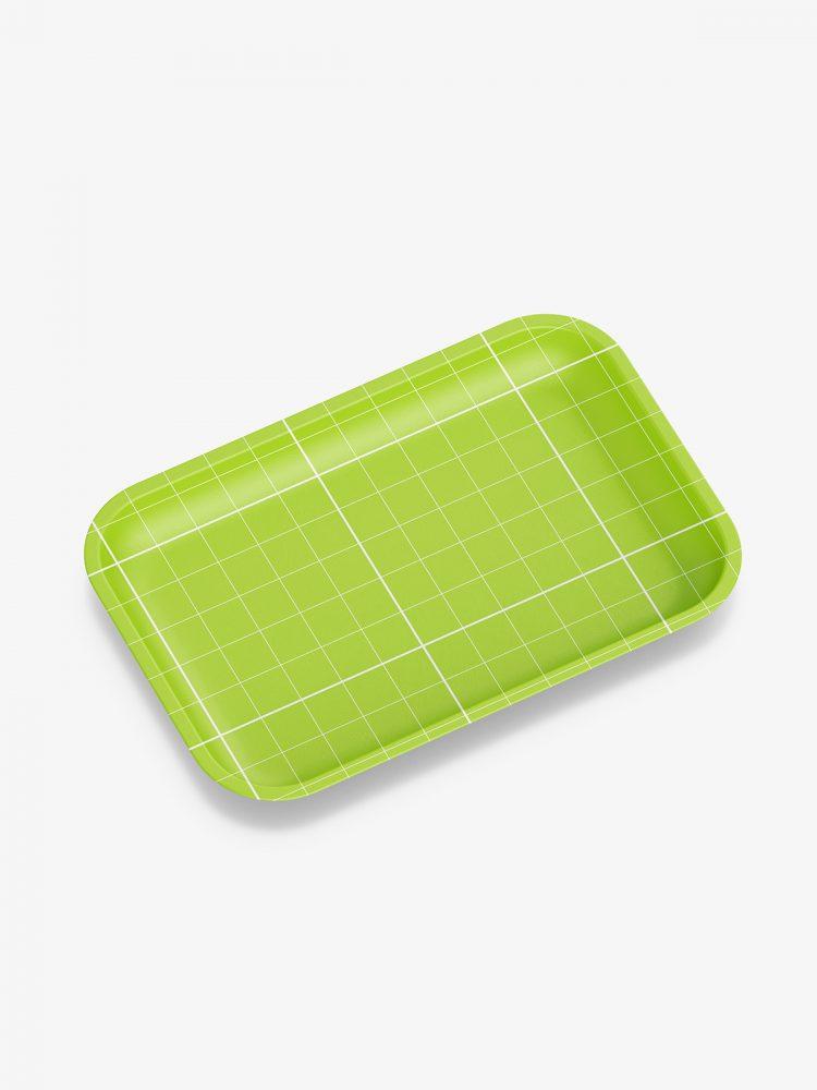 Plastic tray mockup / matt