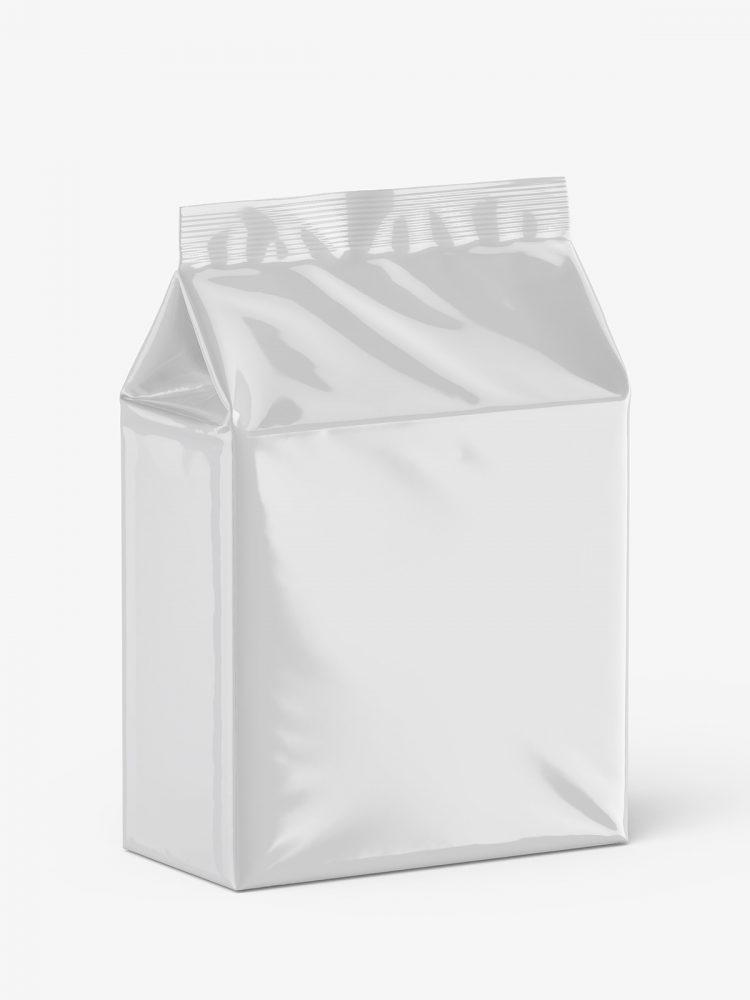 Universal bag mockup / glossy