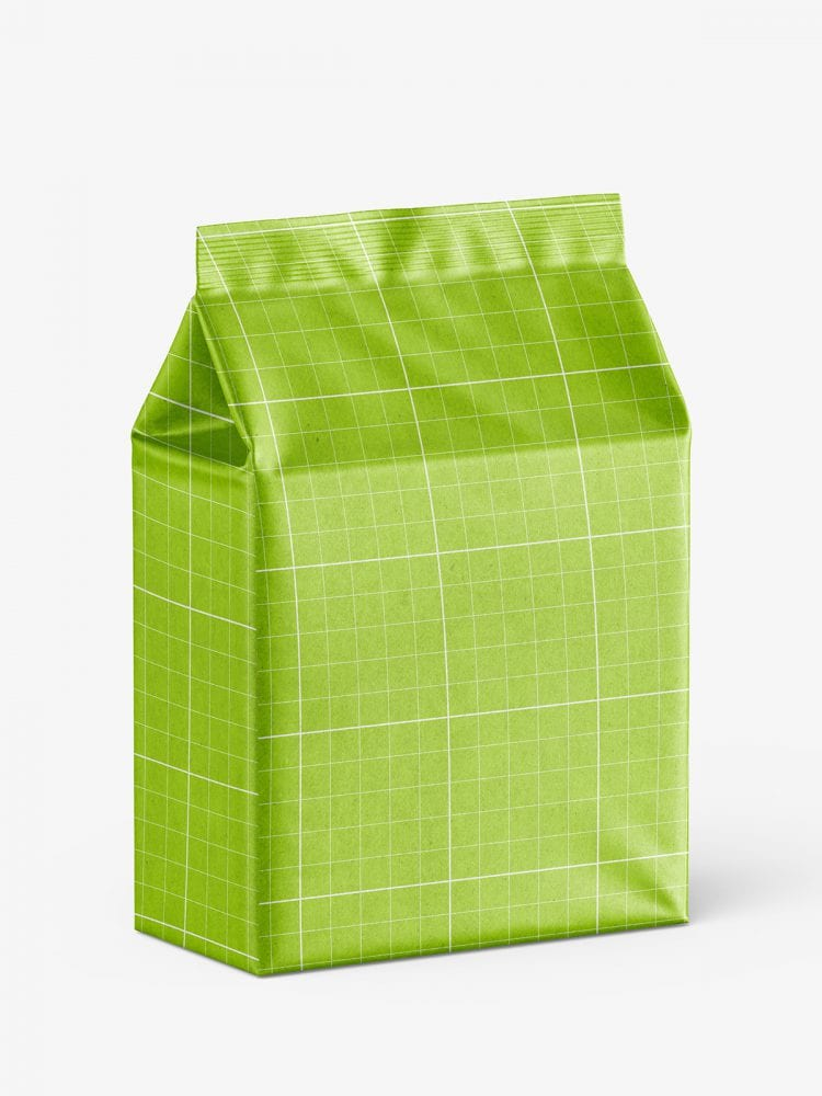 Universal bag mockup / kraft paper