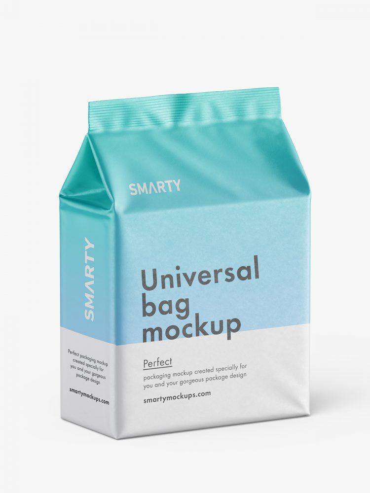 Universal bag mockup / matt