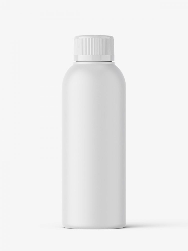 Small bottle mockup / matt