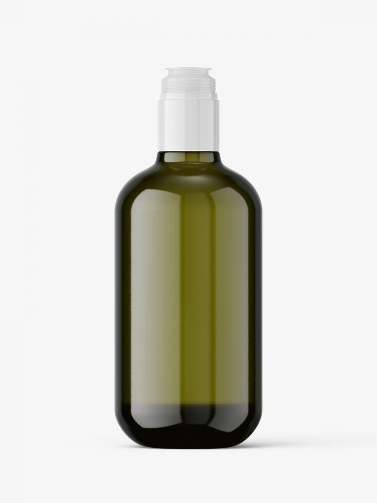 Olive bottle mockup