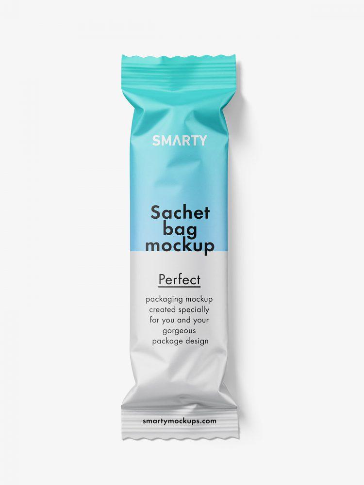 Small paper bag mockup / matt