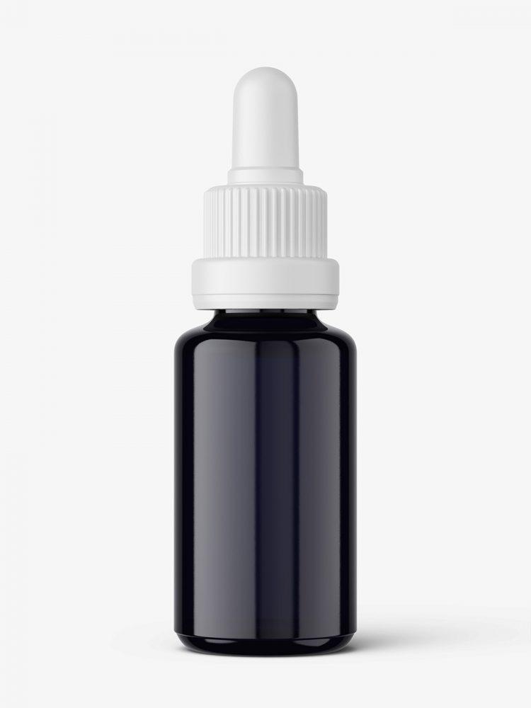 Bio photonic dropper bottle mockup
