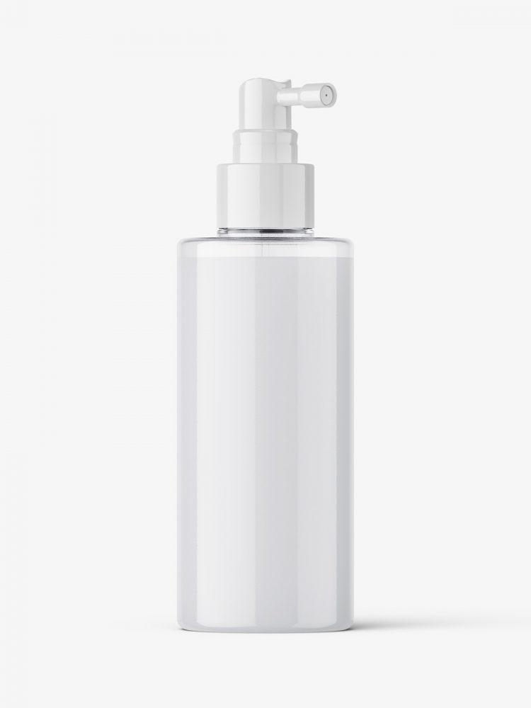 Cream dispenser bottle mockup