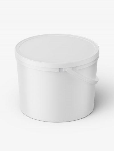 Matt container mockup