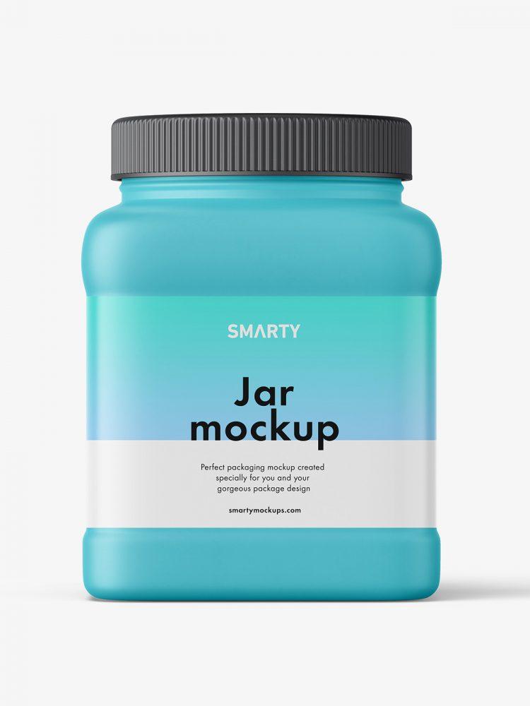 Matt Jar Mockup