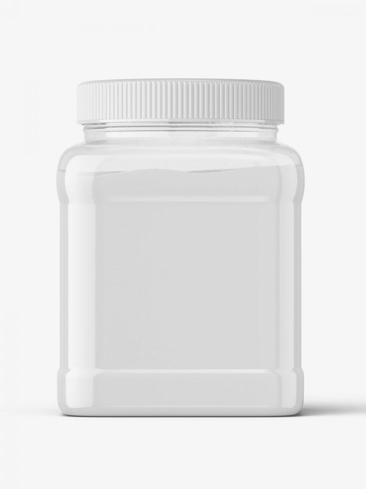 Powder jar mockup