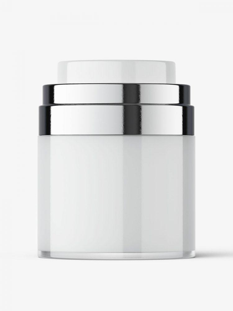 Airless jar mockup / 50 ml
