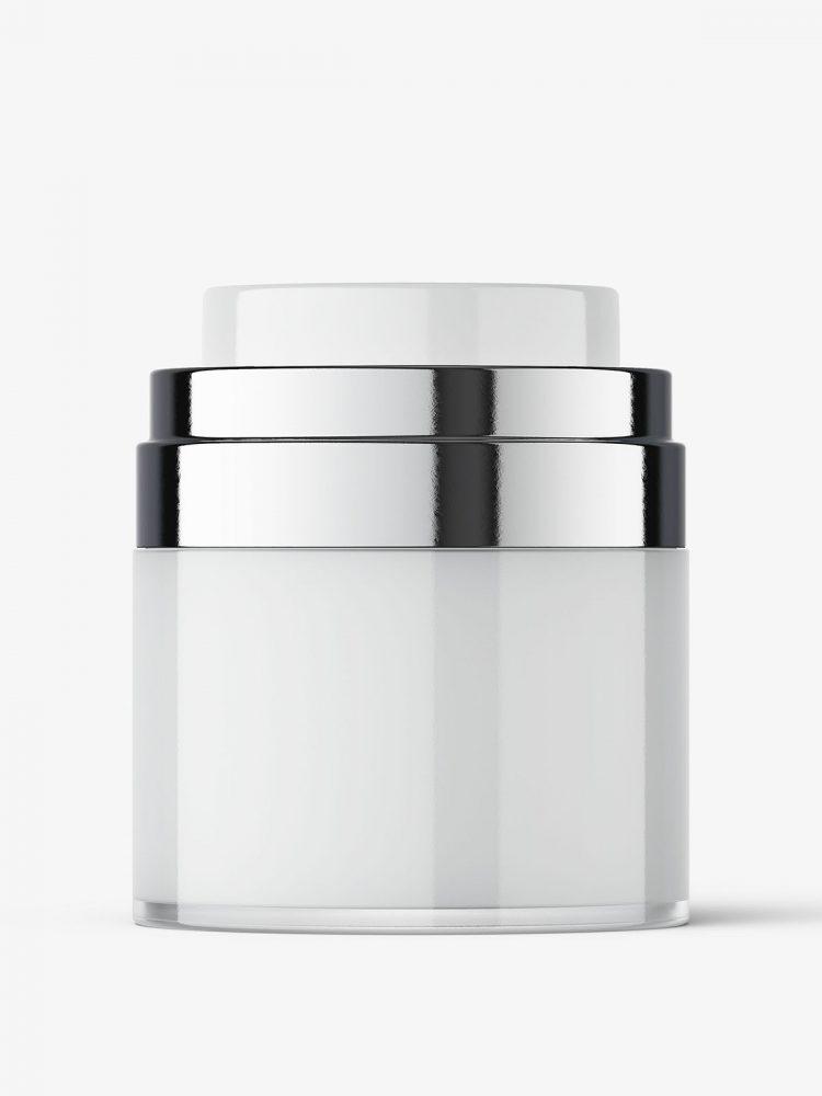 Airless jar mockup / 30 ml